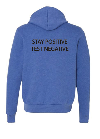 Covid Design - Stay Positive (Hoodie)